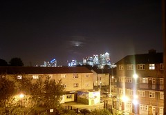 bedroom window (razberry92) Tags: home window night bright calm windowview canarywharf eastlondon residentialarea