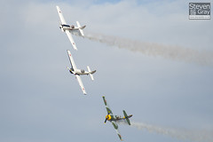 Aerostars Team - Yakovlev Yak-50 - Duxford - 100905 - Steven Gray - IMG_8093
