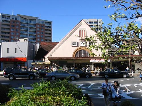 国立駅旧駅舎の最後の日 2006年10月8日 by Poran111