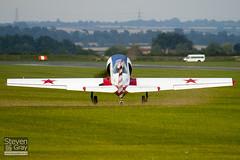 G-BTZB - 801810 - Aerostars Team - Yakovlev Yak-50 - Duxford - 100905 - Steven Gray - IMG_8872