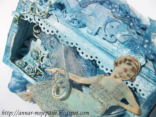 mixedmedia#19 _ Blue Shadowbox 1