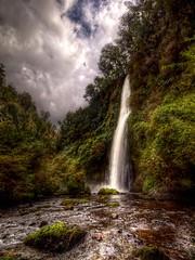 Cascada de San Juan HDR (Phil Bleau) Tags: chile landscape falls sanjuan cascades hdr chilo cascadas olympuse30 zuico918mm