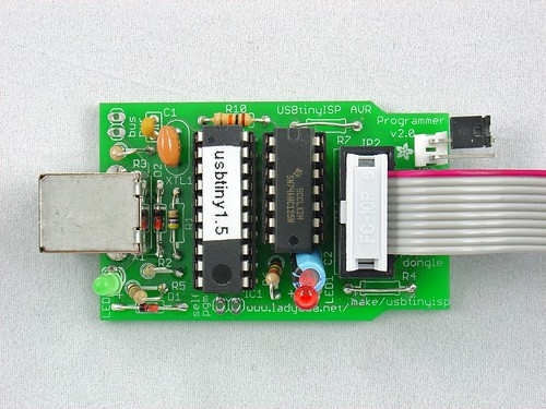 Modified USBTinyISP