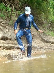 16 WS Come play with me next time in your soaked gear (Wrangswet) Tags: wet cowboys river wranglers riverhike swimmingfullyclothed wetjeans riverswimming wetboots wetcowboy swimminginwranglerjeans guysswimmingfullyclothed wetwranglerjeans meninwetjeans wetcowboysswimming wetspurs