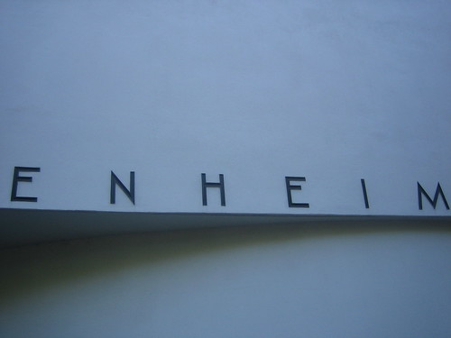 Guggenheim Museum, September 2010 _ 7266