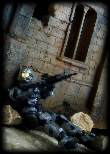 McFarlane Halo Reach - Spartan HAZOP Custom [Steel]