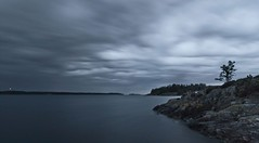 The Coming Storm (Sam...wise) Tags: sea sky storm water canon landscape island sweden calm tokina thunderstorm 1224mm 500d
