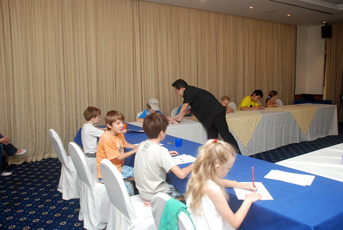 caricature workshop for The British Club - 45