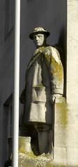 Stone Soldier Plymouth Devon (Bridgemarker Tim) Tags: army plymouth soldiers secondworldwar