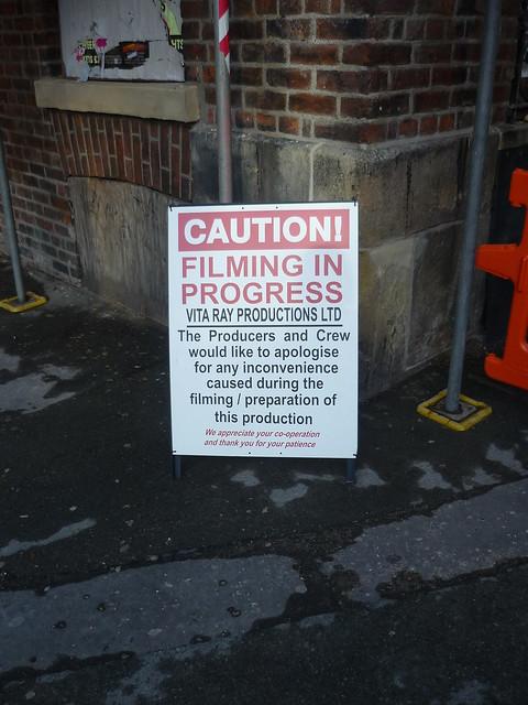 Caution! Filming in Progress by Stewart Spaull