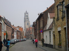 bruges_1_001 (OurTravelPics.com) Tags: street tower st cathedral bruges the salvators oostmeers