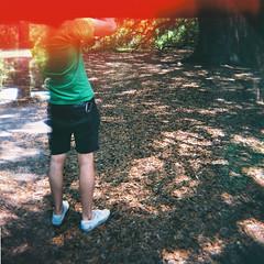 (alisonelizabeth) Tags: boy man david tree guy green nature angel oak brother south dude charleston carolina jorts