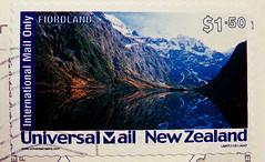 stamp New Zealand 1.50 air mail stamp Neuseeland Poste arienne Air Mail stamp Briefmarke sello timbre marka selo francobollo fiordland Briefmarken Neuseeland znaczkw pocztowych znaczki blyeg j-Zland   frimrker frimerker new zealand f (stampolina) Tags: blue azul postes blauw blu azure stamp bleu porto blau timbre azzurro  niebieski mavi postage franco biru bleue airmail philately paravion vis selo marka bl sello filatelia asul luftpost sininen blou postagestamps pulu   briefmarke    francobollo plava timbres kk  timbreposte   blr  zils timbresposte mlynas philatelie modr   flugpost timbru azzur    muxanh philatlique  postearienne  estampill frankatur  bollato postapulu jyu