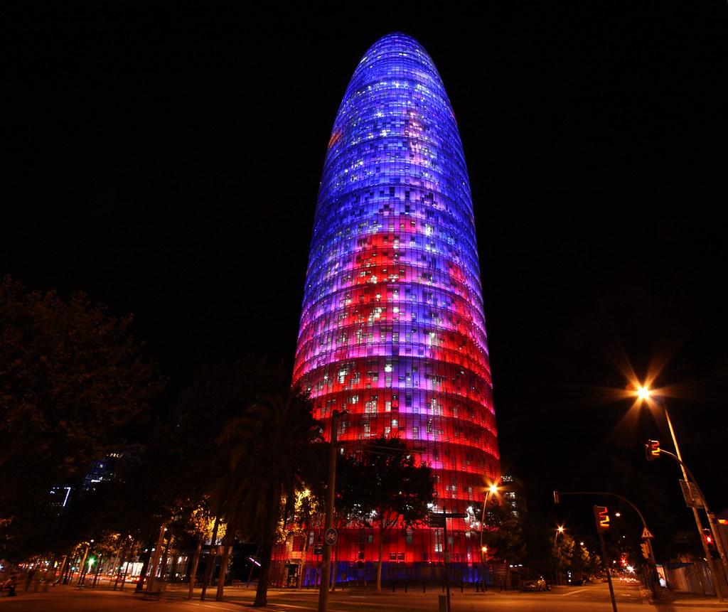 Torre Agbar (Barcelona, Spain)