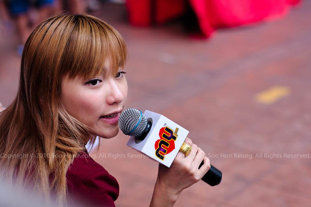Mei Yan @  MYFm Promotion of Legend of the Fist (Chen Zhen), BerJaya Times Square, KL, Malaysia