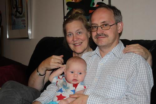 Mormor, Julie och Morfar