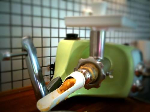Äppelmostillverkning