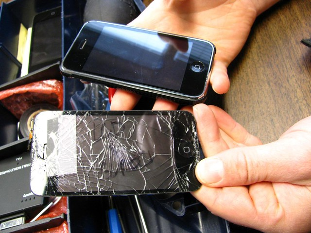 ipod touch cracked screen repair