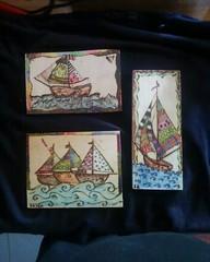 pyrographies (AEGEOTISSA) Tags: wood art τέχνη pyrography areli ζωγραφική πυρογραφια