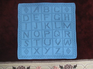 Free Knitting Pattern For Alphabet Blanket : Ravelry: Alphabet Blanket pattern by Debbie Bliss