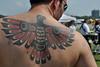 Warrior's Scarred Tattoo This gentleman took