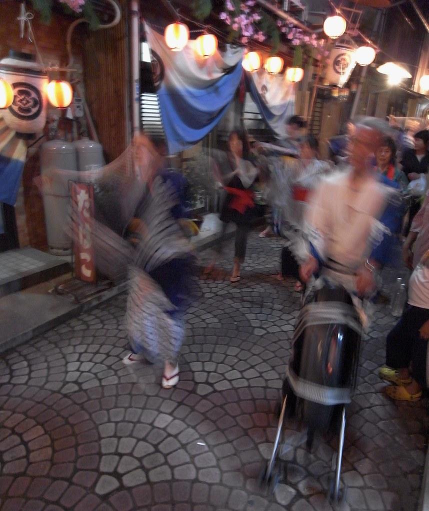 The Music Man: Autumn Festival Tomonoura Western Honshou Japan