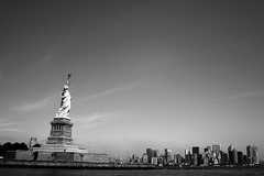 Welcome to America (debtripathi) Tags: nyc skyline manhattan statueofliberty libertyisland