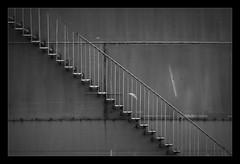 Grey Area (Marjon Bleeker) Tags: holland amsterdam stair trap westpoort