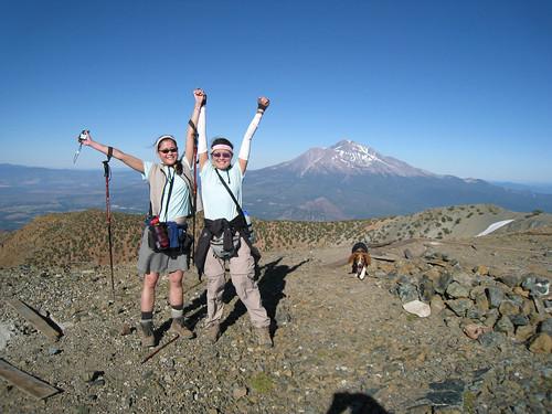 Ana  & Isa climb Mt. Eddy