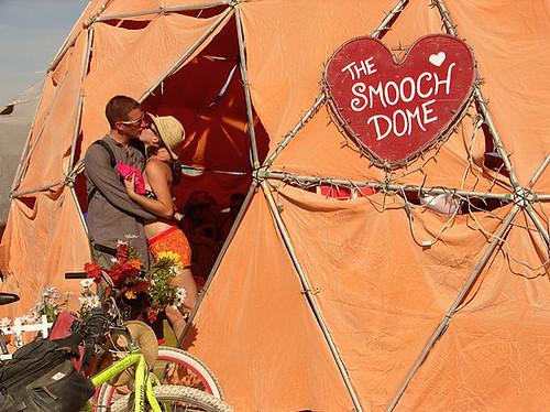 The Smooch Dome by Denise Dambrackas