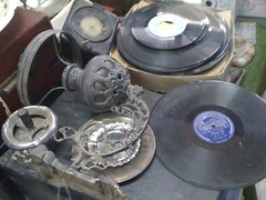 records at every speed gathering dust @ Mazzika in Cairo