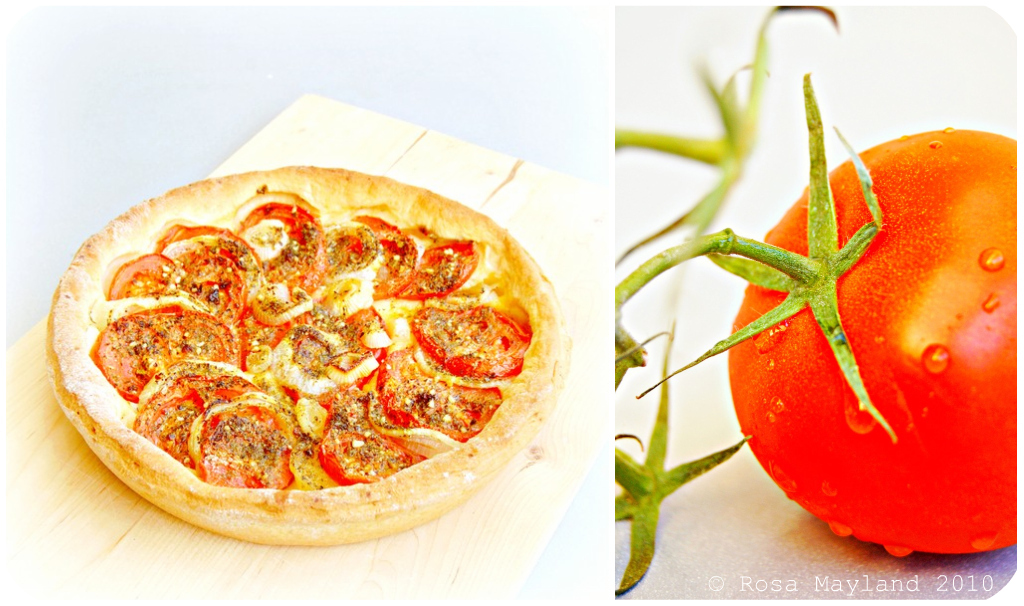 Tomato Tart Picnik-Collage 1 bis