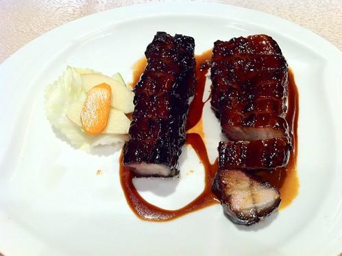 Black Barbecued pork