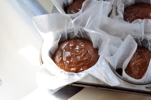 Vegan Chocolate Orange and Ginger Cupcakes