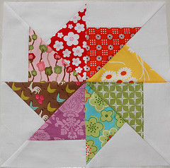 Quilters Journey Block for Melissa (Little Miss Shabby) Tags: parkslope soiree farmdale katiejumprope niceyjane