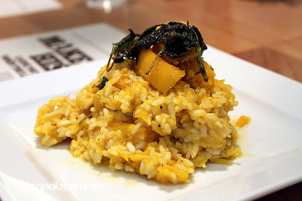 Sage Roasted Pumpkin Risotto