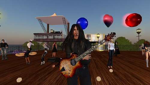 arimo teixeira in second life virtual world