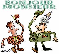 bonjour13 (Novaes Arte) Tags: militar bomba foguete blico quepe