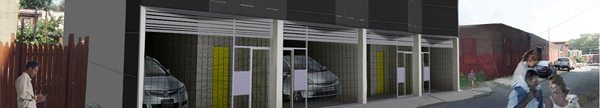 Avant Garage Rendering by Postgreen