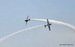 Air show (Rafakoy) Tags: show blue sky ny newyork color colour beach colors digital colours air airplanes longisland airshow acrobatics bethpage 2010 nikond90 federalcreditunion afsnikkor18105mmvr aldorafaelaltamirano rafaelaltamirano aldoraltamirano