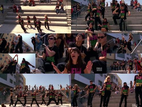 Glee之黑衣活潑現代大合唱