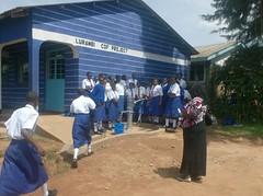 Matende sec school - Community Educator giving speech