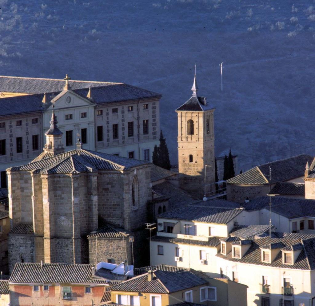 Iglesia de San Andrés en enero de 2003. Fotografía de José María Moreno