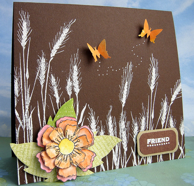 Autumn Colours - CCC card for Corey