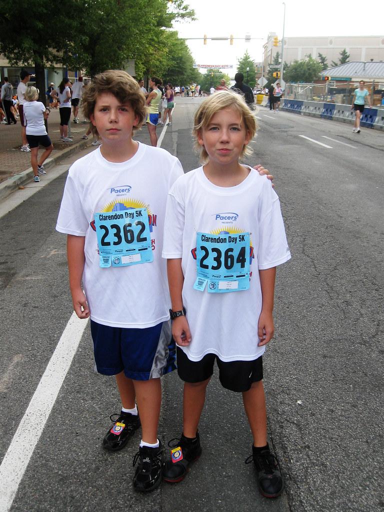 Pre Race Boys