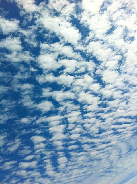 今日の写真 No.25 – ベランダから見た雲/iPhone4 + Pro HDR