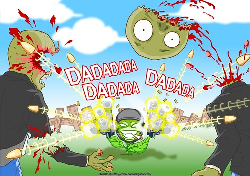 plants vs zombies fight