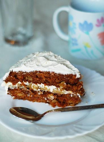 Special Carrot Cake 3/3 моркови ябълки постен постна торта сладкиш carrots apple eggless milkless butterless
