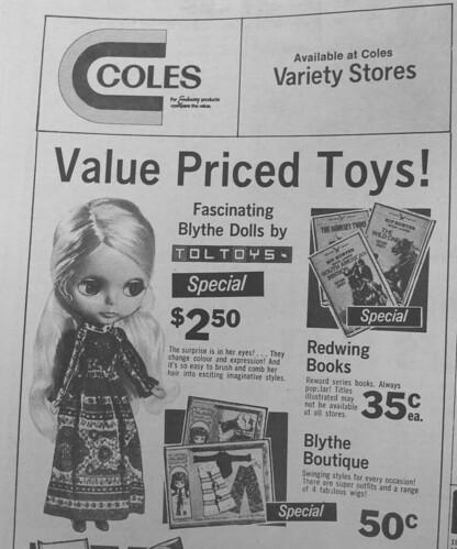 Blythe doll - 1973 - $2.50 by biddie2010