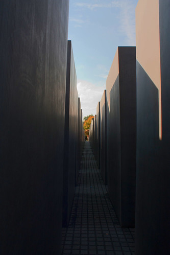 Photo: Memorial to the Murdered Jews of Europe